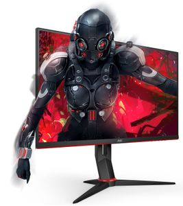 AOC Monitor AOC 24G2U/BK 23.8'' FullHD, IPS, HDMI/ DP/ USB,  speakers (24G2U/BK)