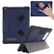 NUTKASE BumpKase for iPad 5th/6th Gen with Shoulder Strap - Dark Blue, Protective iPad case with a front cover that triangulates into a stand, a handstrap on the back of the case and an ID card holder on the