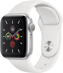 APPLE WATCH SERIES 5 GPS 40MM SILVER                  IN CONS (MWV62KS/A)