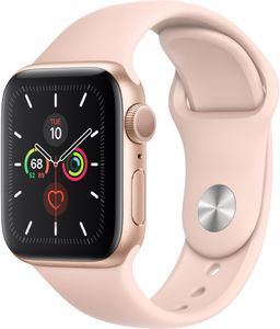 APPLE WATCH SERIES 5 GPS 40MM GOLD                    IN CONS (MWV72KS/A)