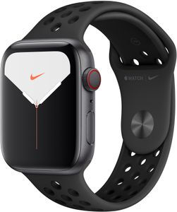 APPLE WATCH NIKE SERIES 5 GPS + CELLULAR 44MM SPACE GREY   IN CONS (MX3F2KS/A)