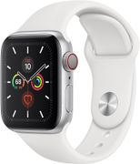 APPLE WATCH SERIES 5 GPS + CELLULAR 40MM SILVER       IN CONS
