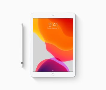 "APPLE iPad (2019) 32GB WiFi sølv WiFi, 7.gen, 10.2"" Retina-skjerm (2160x1620),  Touch ID (MW752KN/A)"