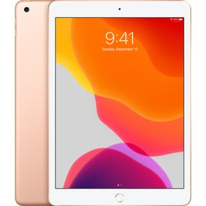 "APPLE iPad (2019) 128GB WiFi gull WiFi, 7.gen, 10.2"" Retina-skjerm (2160x1620),  Touch ID (MW792KN/A)"