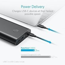ANKER PowerCore+ 26800 PD Powerbank - Sort - (A1375G11)