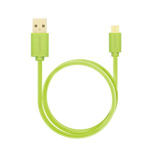 AXAGON HQ Cable Micro USB <-> USB A. Green. 1.0m Factory Sealed (BUMM-AM10QG)