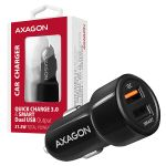 AXAGON Car Charger Smart 5V 2.4A + QC3.0. 30W Factory Sealed (PWC-QC5)
