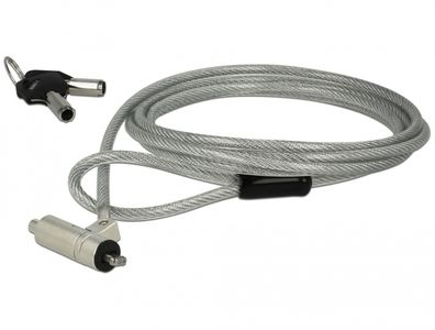 NAVILOCK Laptop Security Cable with Key Lock for HP Nano slot (20655)