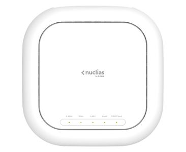 D-LINK Nuclias Wireless AC2600 Wave2 PoE Cloud Access Point with 1 Year License Included (DBA-2820P)