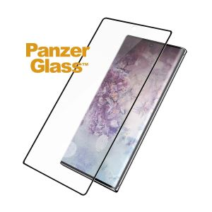 PanzerGlass Screen Protection Sort ramme, Case Friendly, for Note10 (7201)