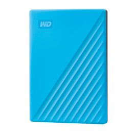 WESTERN DIGITAL My Passport 2TB portable HDD USB3.0 USB2.0 compatible Blue Retail (WDBYVG0020BBL-WESN)