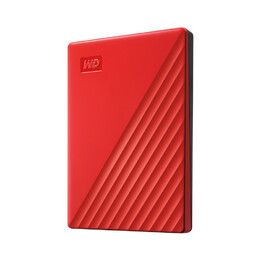 WESTERN DIGITAL My Passport 2TB portable HDD USB3.0 USB2.0 compatible Red Retail (WDBYVG0020BRD-WESN)