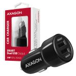 AXAGON Car Charger Smart 5V 2.4A + 2.4A. 24W  Factory Sealed (PWC-5V5)