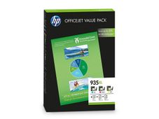HP 935XL original ink cartridge cyan, magenta and yellow high capacity OVP Pack