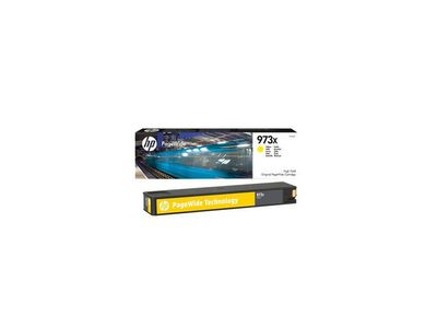 HP INK CARTRIDGE NO 973X YELLOW PAGEWIDE / HIGH YIELD SUPL (F6T83AE)