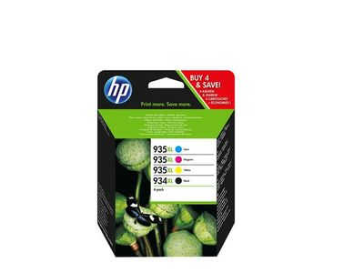 HP Ink/ 934XL/ 935XL HY Cart CMYK (X4E14AE)