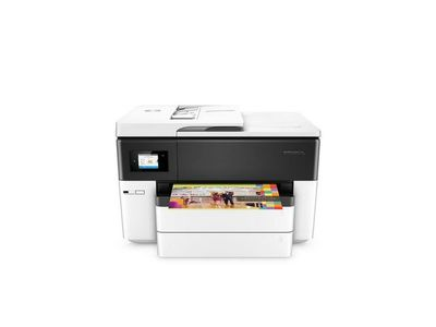 HP Officejet Pro 7740 All-in-One Blækprinter Multifunktion med Fax - Farve - Blæk (G5J38A#A80)