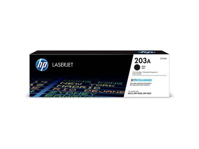 HP 203A ORIGINAL BLACK LASERJET TONER CARTRIDGE (CF540A)