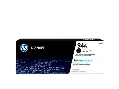 HP 94A Black Original LaserJet Toner Cartridge (CF294A)