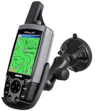 RAM MOUNT RAM MNT W SUCTION GARMIN 60 SERIES (RAP-B-166-2-GA12U)