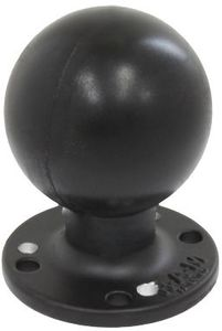 "RAM MOUNT 2 7/16"" DIA BASE WITH 2 1/4"" BALL 7 HOLE (RAM-D-254-WD1U)"