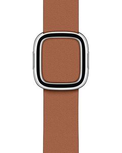 APPLE 40MM SADDLE BROWN MODERN BUCKLE LARGE ACCS (MWRE2ZM/A)