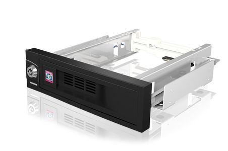 ICY BOX IcyBox Mobile Rack 5,25' for 3,5'' SATA HDD, black (IB-168SK-B)