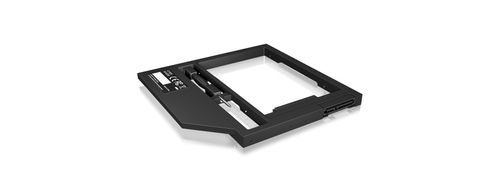 """ICY BOX Adapter for 2.5"""" HDD/SSD in 9-9.5 mm Notebook DVD bay, with screwdrive (60095)"""
