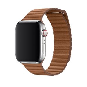 APPLE 44MM SADDLE BROWN LEATHER LOOP LARGE ACCS (MXAG2ZM/A)