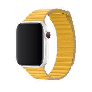 APPLE 44MM MEYER LEMON LEATHER LOOP LARGE ACCS (MXAE2ZM/A)
