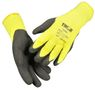 KD Halvdyppet latexhandske, THOR Thermo, 11, polyester/latex, ribkant