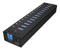 ICY BOX 10 PORT USB HUB