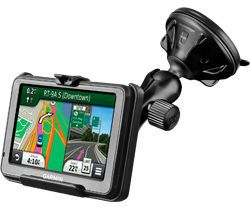 RAM MOUNT RAM MNT W SUCTION GARMIN 200W 250W (RAP-B-166-2-GA25)