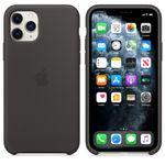 APPLE Silikondeksel 11 Pro, Svart Deksel til iPhone 11 Pro (MWYN2ZM/A)