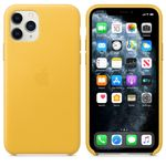 APPLE IP11 Pro Leather Case Meyer Lemon (MWYA2ZM/A)