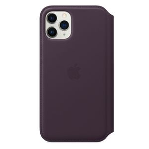 APPLE IP11 Pro Leather Folio Aubergine (MX072ZM/A)