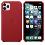 APPLE Skinndeksel 11 Pro Max, Red Deksel til iPhone 11 Pro Max (MX0F2ZM/A)