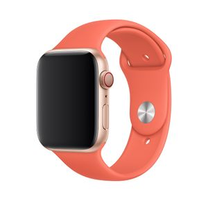 APPLE 44mm Clementine Sport Band - S/M & M/L (MWUW2ZM/A)