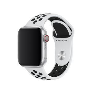 APPLE WATCH 40 PURE PLATINUM/ BLK NS-ZML (MX8D2ZM/A)