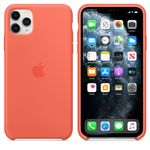 APPLE IP11 Pro Max Silicone Case Orange (MX022ZM/A)