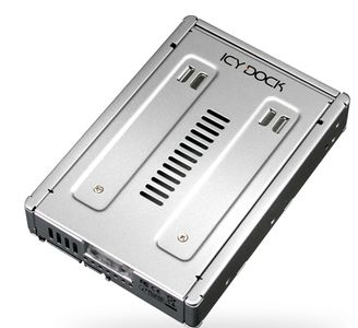 ICY DOCK Storage MB982SP-1S 2.5inch to 3.5inch SSD/SATA Hard Drive Converter Retail (MB982SP-1S)