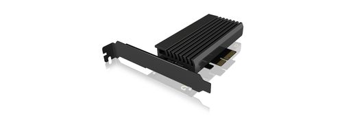 ICY BOX PCIe extension card with M.2 M-Key socket for one M.2 NVMe SSD (IB-PCI214M2-HSL)