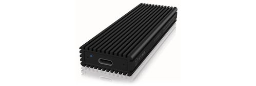 ICY BOX External enclosure for M.2 NVMe SSD, USB 3.1 Type-C, Black (IB-1816M-C31)