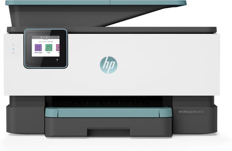 HP Officejet Pro 9015 Inkjet, Print/ Copy/ Scan/ Fax,  Wifi/ Ethernet/ USB/  18ppm, 250 sheets (3UK91B#BHC)