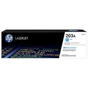 HP 203A ORIGINAL CYAN LASERJET TONER CARTRIDGE SUPL (CF541A)