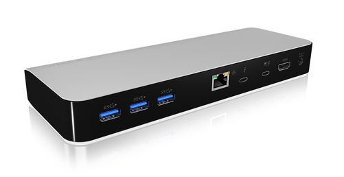 ICY BOX Docking Station with Power Delivery Thunderbolt 3 Type-C, HDMI, SD reader (IB-DK2501-TB3)