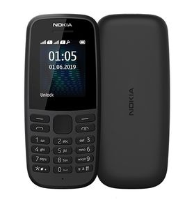NOKIA 105 DS TA-1174 BLACK 2019 (16KIGB01A02)