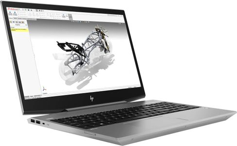 HP ZBook 15v G5 i5-9300H 15.6inch FHD AG LED 8GB DDR4 256GB PCIe NVMe Three Layer Cell HD Webcam Narrow Bezel W10P (ML) (6TR87EA#UUW)