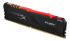 KINGSTON 16GB 3200MHz DDR4 CL16 DIMM HyperX FURY RGB