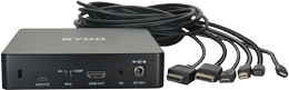 DELTACO Soft Codec conference system, AV switching,  USB extension